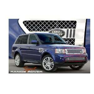 LAND ROVER RANGE ROVER SPORT 2010 2012 HEAVY MESH CHROME GRILLE GRILL
