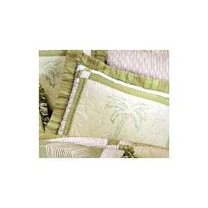 Kimiko Palm Tree Standard Pillow Sham: Home & Kitchen