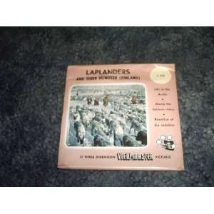 Laplanders and Their Reindeer View Master Reels C535 SAWYERS Books