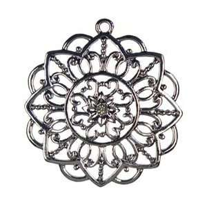 Cousin Jewelry Basics Metal Pendant 1/Pkg Gunmetal