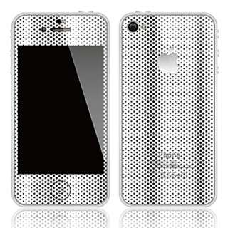 Wave Front+Back Case Cover Skin Sticker for iPhone 4/4G/4S