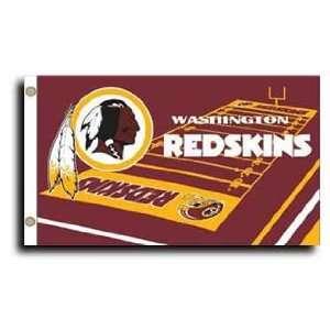 Washington Redskins   NFL Field Flags Patio, Lawn & Garden