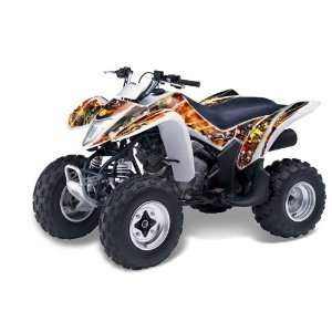 AMR Racing Suzuki LTZ 250 2004 2011 ATV Quad Graphic Kit   Firestorm