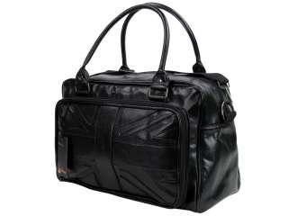 Ben Sherman Bag Holdall Perforated Union Jack Pattern