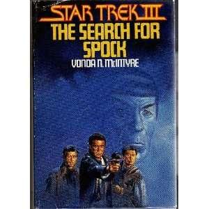 Star Trek 3 The Search for Spock Vonda McIntyre Books