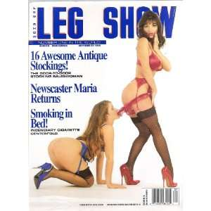 LEG SHOW MAGAZINE SEPTEMBER 1994 LEG SHOW Books