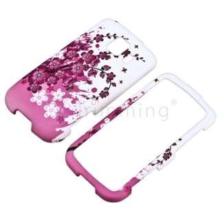 New Pink Spring Flower Cover Skin Case for LG Optimus S LS670