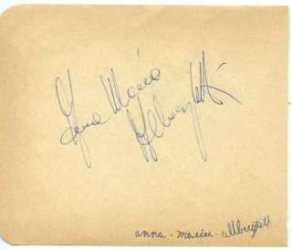 RITCHIE VALENS VINTAGE 1950s SIGNED PAGE AUTOGRAPHED