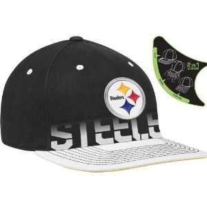 Pittsburgh Steelers Sideline Player Pro Shape Flat Brim Flex Hat