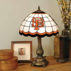SAN FRANCISCO GIANTS 20 Hand Cut Stained Glass TIFFANY