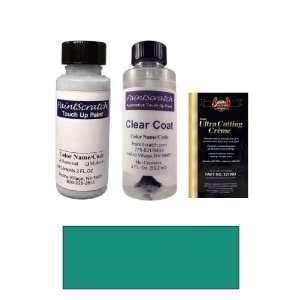 Oz. Dark Teal Blue Metallic Paint Bottle Kit for 1991 Chevrolet All