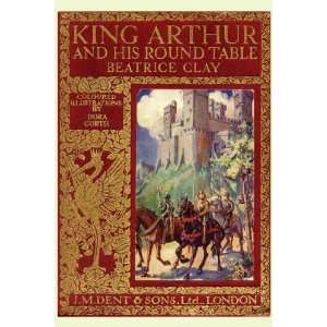 1910 cover king arthur knight round table camelot horse - King arthur s round table found ...