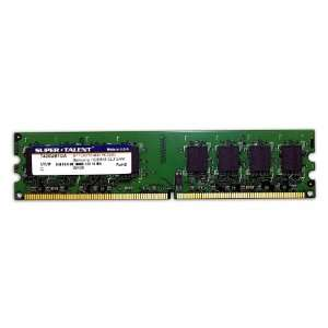 Super Talent DDR2 400 1GB/64x8 CL3 Desktop Memory T400UB1GA