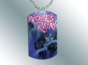 Wolfs Rain Dog Tag Pendant Necklace
