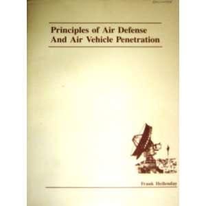 Principles of Air Defense and Air Vehicle Penetration 1988