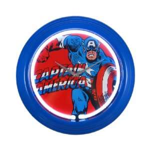 Marvel Comics Captain America Neon Wall Clock
