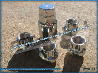 CADILLAC ESCALADE WHEEL LOCKS LOCKING LUG NUTS SILVERADO SUBURBAN