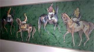 HORSE & Jockey THOROUGHBRED TROPHY Wallpaper Border