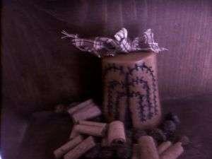 PRIMITIVE Sugar Cone with Willow Tree