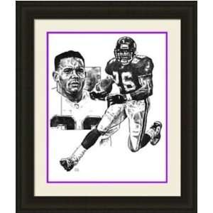 Minnesota Vikings Framed Robert Smith Minnesota Vikings By