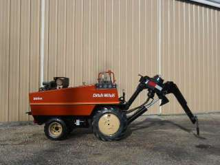 Ditch Witch 255SX Cable Drop Plow Vibratory 4X4 Boring Machine Bore