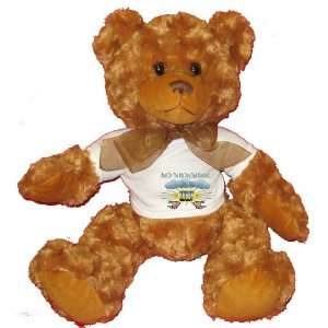 And On The 8th Day God Created RUGBY Plush Teddy Bear with