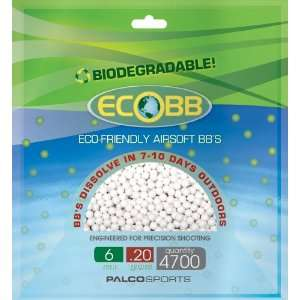 Eco BB 4700 ct. Eco Friendly Airsoft BBs Olive Drab