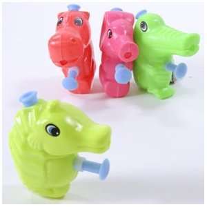 Neon Animal Water Squirt Gun  Toys & Games
