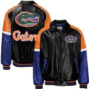 Florida Gators Black Varsity Pleather Jacket