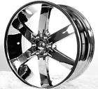 24 INCH RIMS WHEEL TIRE PACKAGE 5X114.3 5X115 5X120 55