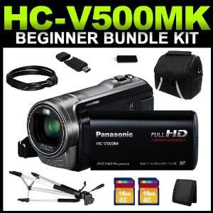 Panasonic HC V500MK Black 1/5.8 MOS 3.0 LCD 38X Optical