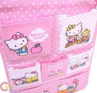 Sanrio Hello Kitty Hanging Letter OrganizerPink Fabric