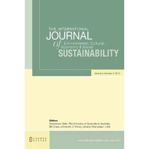 The International Journal of Environmental, Cultural, Economic and