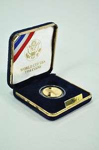 1994 $5 GOLD PROOF COIN USA World Cup Soccer