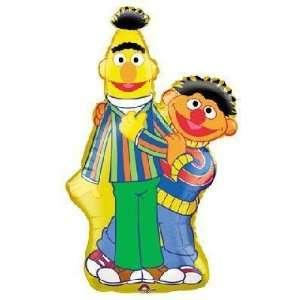 Sesame Street   Bert & Ernie Super Shape Balloon Toys