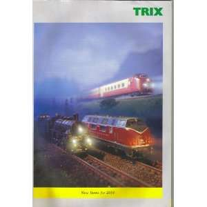 TRIX Model Railroad Catalog New Items for 2001 TRIX