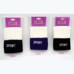 2Pc Sport Wrist Band Case Pack 48 Beauty