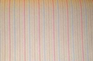 3D Pink/Blue/Beige Stripes textured vintage wallpaper