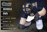 St Louis Rams NFL Bubba 5 Ft Inflatable Football Player 896332002474