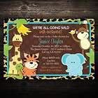 Wild Leopard Print Jungle Safari Friends Baby Shower or Birthday