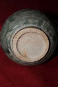 ANTIQUE THAILAND SUKHOTHAI SIAM STONEWARE PERFUME BOTTLE CERAMIC