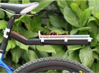 Cycling Bicycle Rear Rack Bike Bag Aluminum alloy Panniers Rack Fender