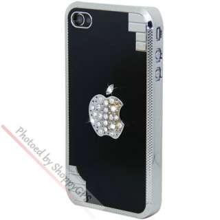 Pink Bling Glitter Crystal Diamond Aluminum Case Cover For Apple