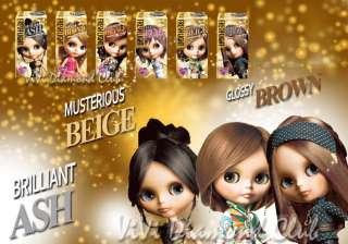 FRESH LIGHT Japan Blythe Doll Hair Color GLOSSY BROWN