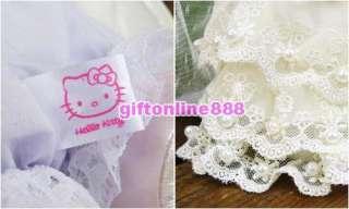 2PC Hello Kitty Bride & Groom wedding dresses doll