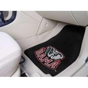 NCAA Alabama Crimson Tide 2 Piece Chromo Jet Printed Floor Car
