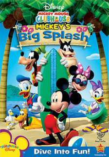 Mickey Mouse Clubhouse Mickeys Big Splash (DVD)