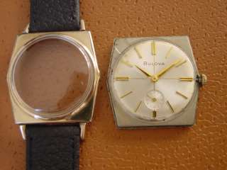Vintage Bulova Mens Wrist Watch  Manual Wind  Cal. 11AL