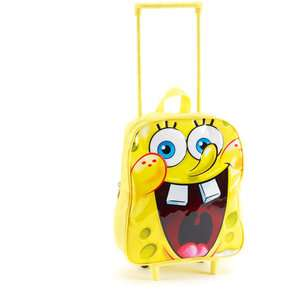 Nickelodeon SpongeBob SquarePants Rolling Backpack Bags