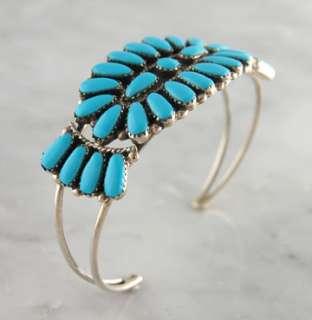 Cluster Bracelet Navajo Sterling Silver .925 Native American Jewelry